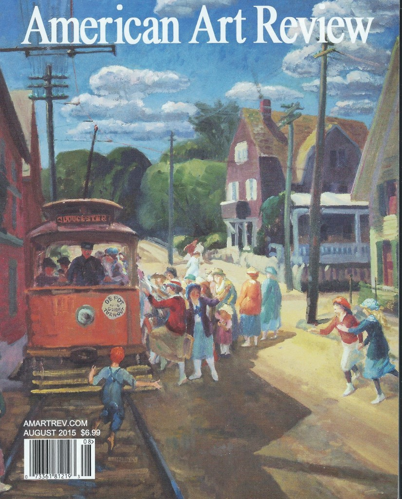 American Art Review cover